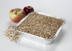 Click to enlarge Frozen Apple Crisp 8x8