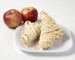 Click to enlarge Frosted Apple Turnovers