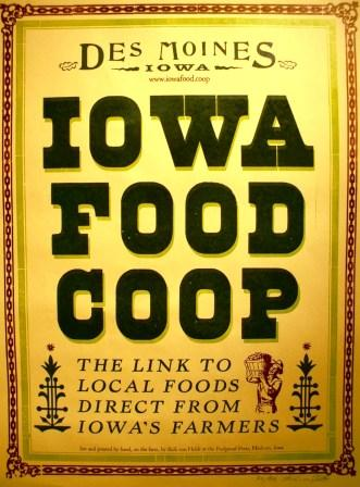 Click to enlarge Limited Edition Iowa Food Cooperative Print