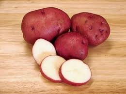 Click to enlarge Red Norland New Potatoes