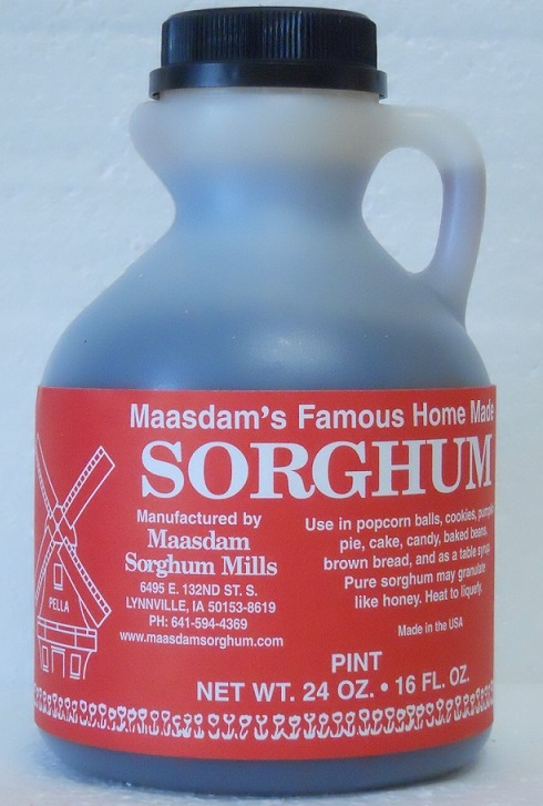 Click to enlarge Pint Jug Pure Sorghum Syrup