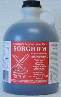 Click to enlarge Half Gallon Pure Sorghum Syrup