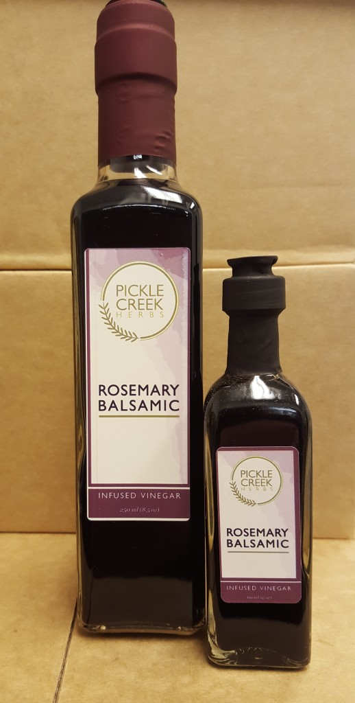 Click to enlarge Rosemary Infused Balsamic Vinegar