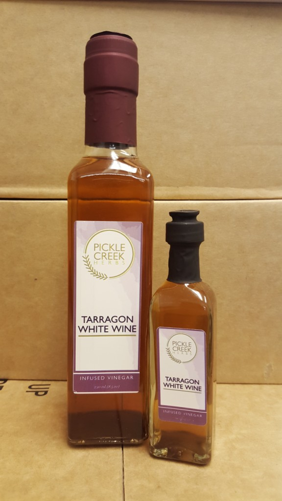 Click to enlarge Tarragon Infused White Wine Vinegar
