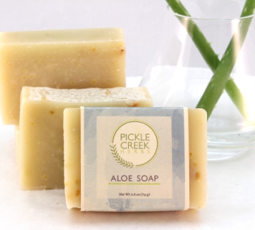 Click to enlarge Aloe Herbal Soap