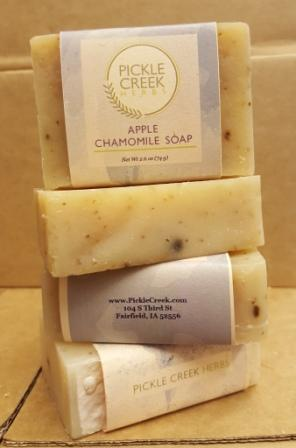 Click to enlarge Apple Chamomile Herbal Soap