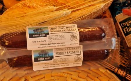 Click to enlarge Summer Sausage (8 oz.) - Original Flavor
