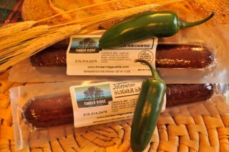 Click to enlarge Summer Sausage (8 oz.) - Original Flavor w/Jalapeno
