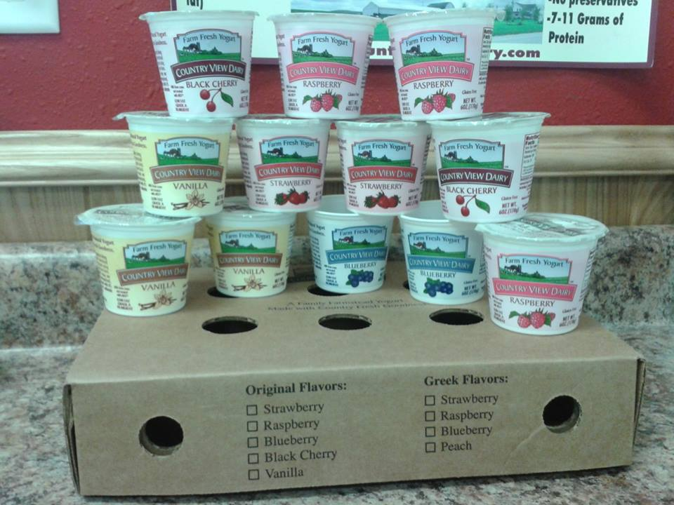 Click to enlarge Original 6 oz VARIETY PACK All-Natural Farmstead Yogurt-1 Dozen
