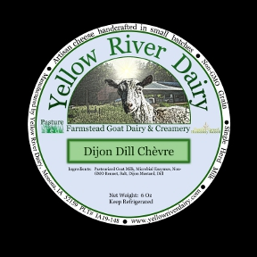 Click to enlarge Creamy Chevre-Dijon Dill