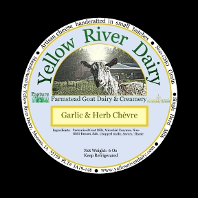 Click to enlarge Creamy Chevre-Garlic & Herbs