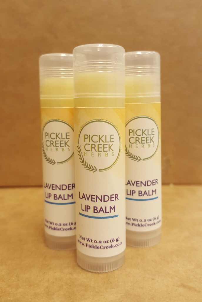 Click to enlarge Lavender Herbal Lip Balm