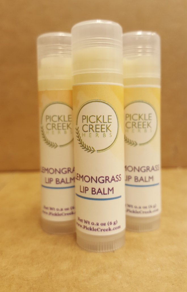Click to enlarge Lemongrass Herbal Lip Balm