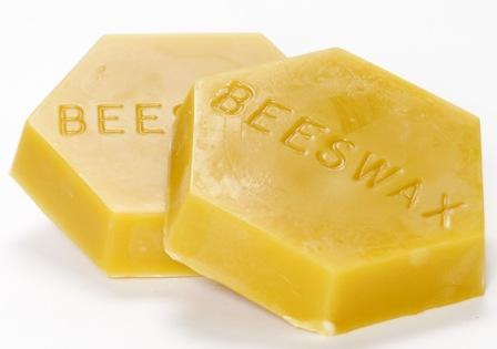 Click to enlarge 1 lb Beeswax block (filtered)