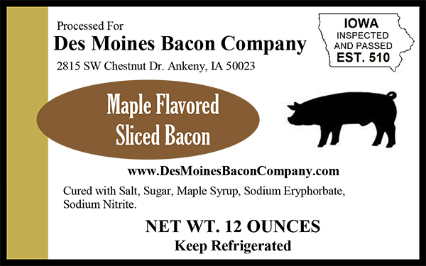 Click to enlarge Breakfast Maple Bacon