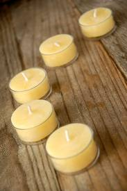 Click to enlarge 100% Pure Beeswax - Tealight Candles (12 pack)