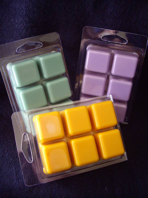 Click to enlarge Soy Wax Tart - Basil Sage Mint