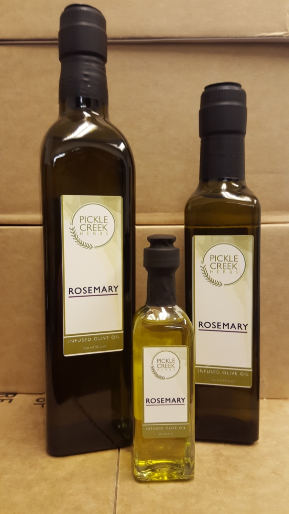 Click to enlarge Rosemary Infused Olive Oil