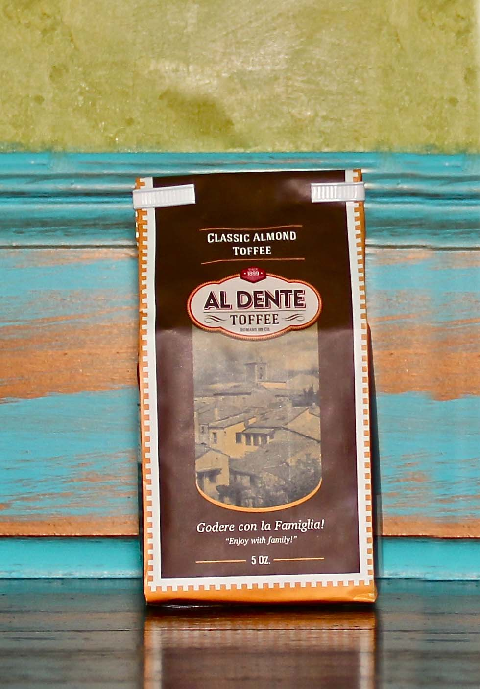 Click to enlarge Al Dente Toffee  Classic Almond Toffee