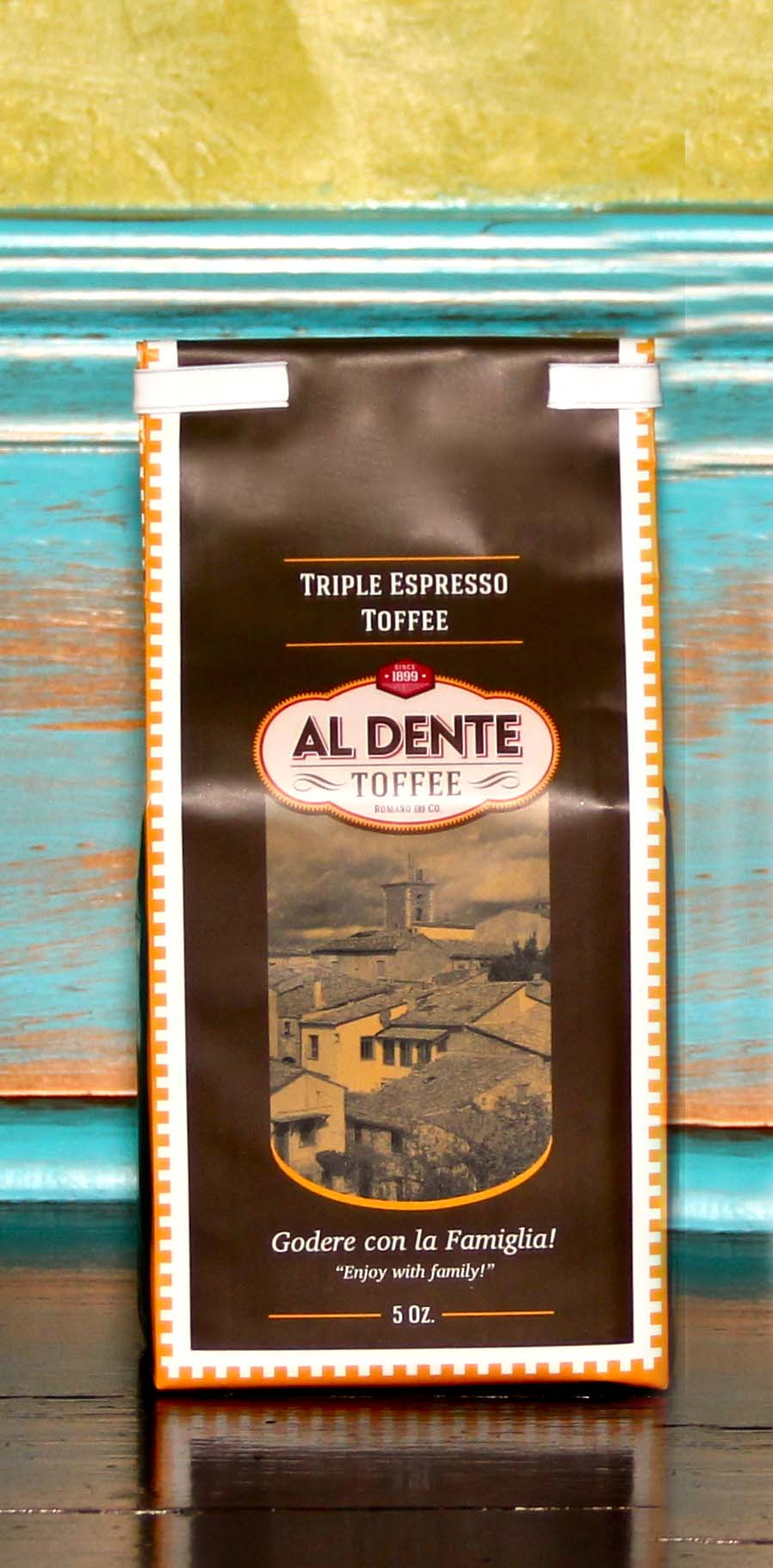 Click to enlarge Triple Espresso Toffee 5oz