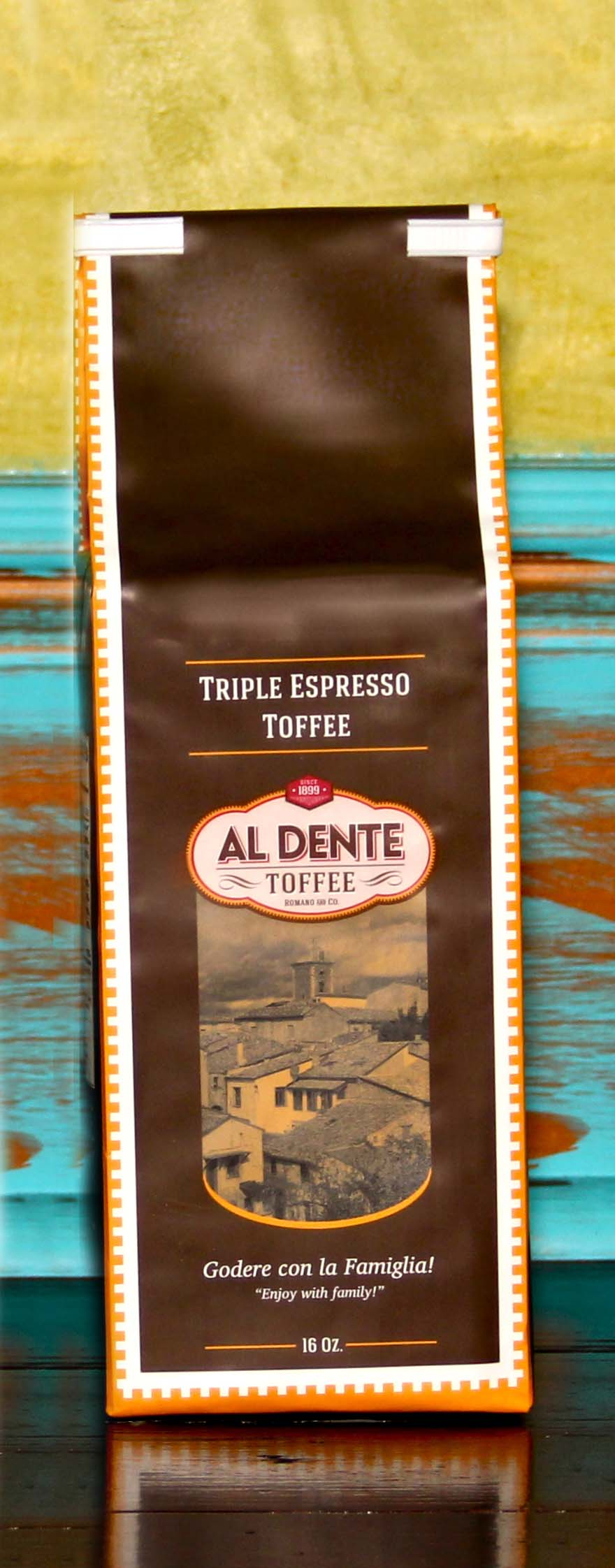 Click to enlarge Triple Espresso Toffee 16 oz