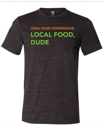 Click to enlarge Iowa Food Cooperative T-Shirt LARGE