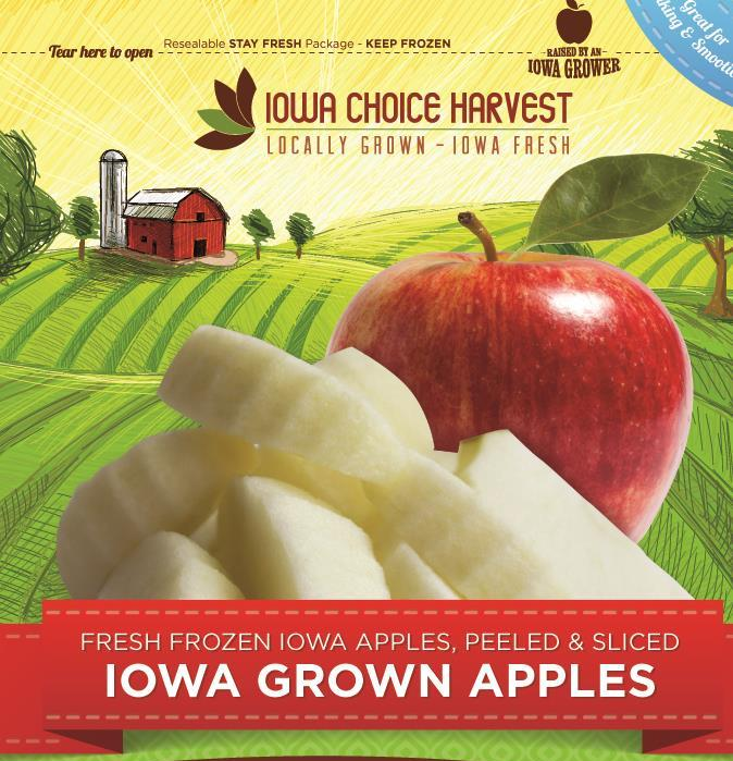 Click to enlarge ON SALE - Frozen Sliced Apples