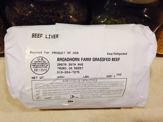 Click to enlarge Grassfed Beef Liver