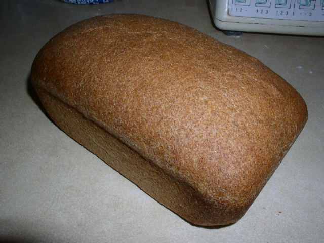Click to enlarge 100% Whole Wheat Bread