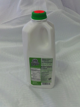 Click to enlarge Milk (1%) - 1/2 Gallon
