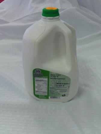 Click to enlarge Non-homogenized Milk (1%) - Gallon