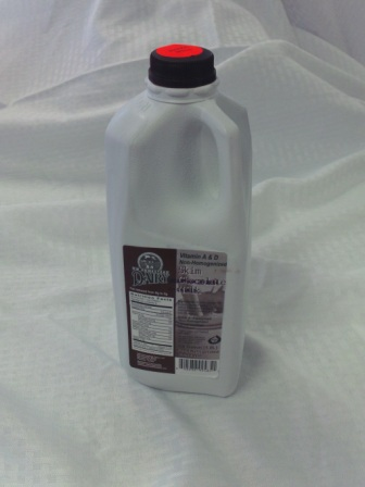 Click to enlarge WW Homestead Dairy Skim Chocolate Milk - 1/2 Gallon