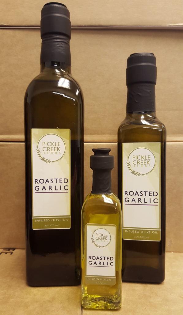 Click to enlarge Roasted Garlic Infused Olive Oil