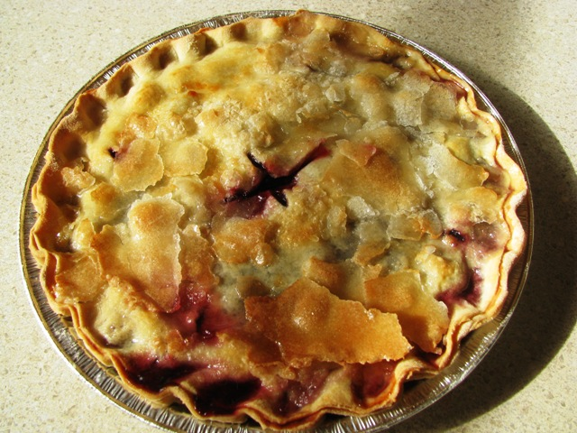 Click to enlarge Double Cherry Pie