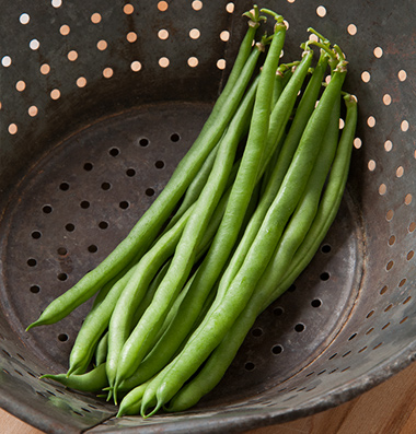 Click to enlarge Beans - green