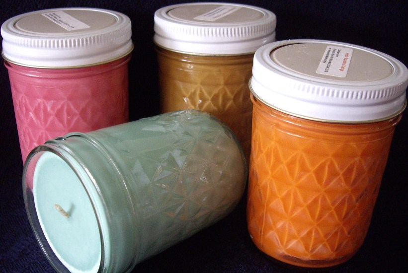 Click to enlarge Friendship Tree Jade Soy Wax Candle