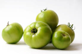 Click to enlarge Certified Organic Green Tomatoes