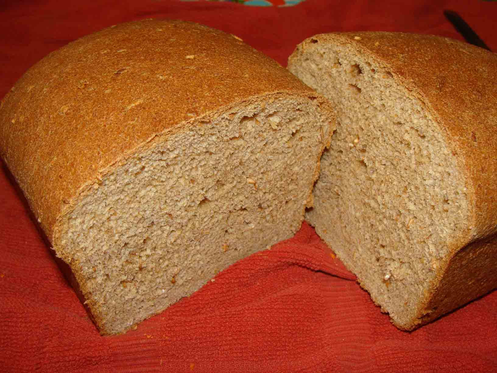 Click to enlarge 7-Grain Whole Wheat Bread