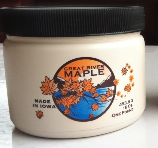 Click to enlarge 8oz Maple Cream