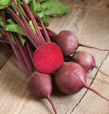 Click to enlarge Beets: Red Ace Beets