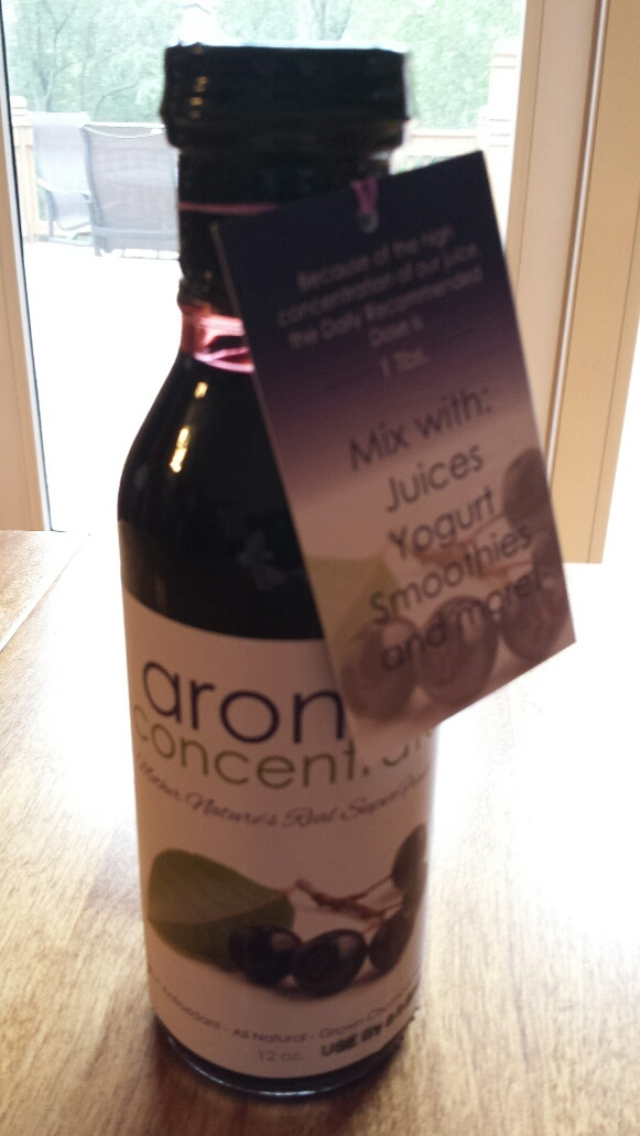 Click to enlarge Aronia Concentrate (12 oz)
