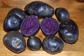 Click to enlarge Potatoes - Purple Majesty