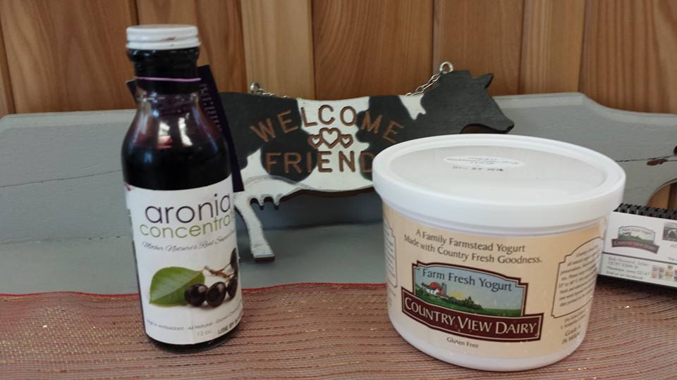 Click to enlarge GREEK ARONIA-Blackberry Custard **NEW** 3 lb tub All-Natural Yogurt