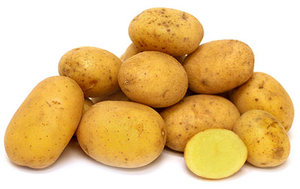 Click to enlarge Potatoes, German Butterball