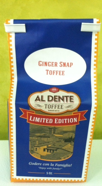 Click to enlarge Ginger Snap Toffee