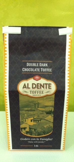 Click to enlarge Double Dark Chocolate Toffee