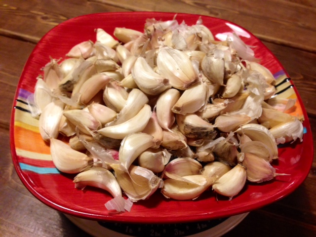 Click to enlarge Garlic, loose cloves, bulk