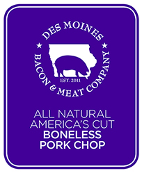 Click to enlarge All Natural America's Cut Boneless Pork Chops