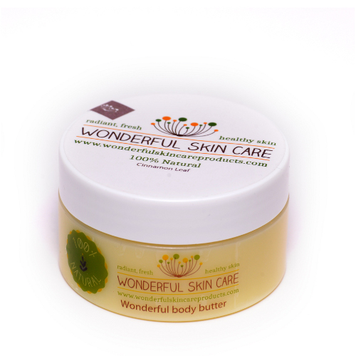 Click to enlarge Cinnamon Leaf Wonderful Body Butter, Small