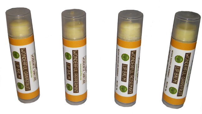 Click to enlarge Lemongrass Wonderful Lip Balm